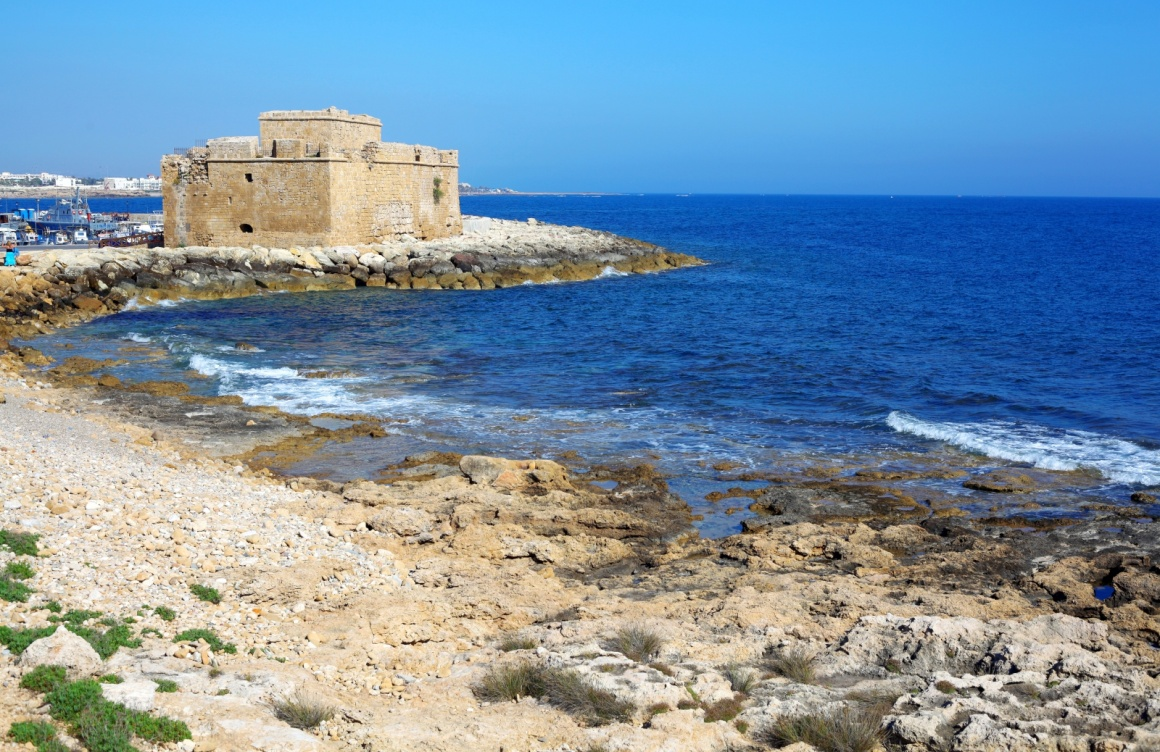 'Medieval fortification of Pafos bay, Cyprus' - Cyprus